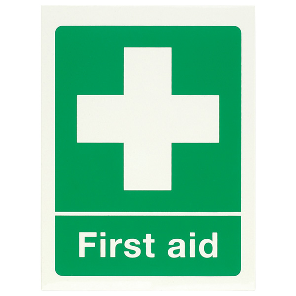 First Aid PPE Sign