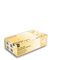 Yellow Vinyl Gloves - Powdered
