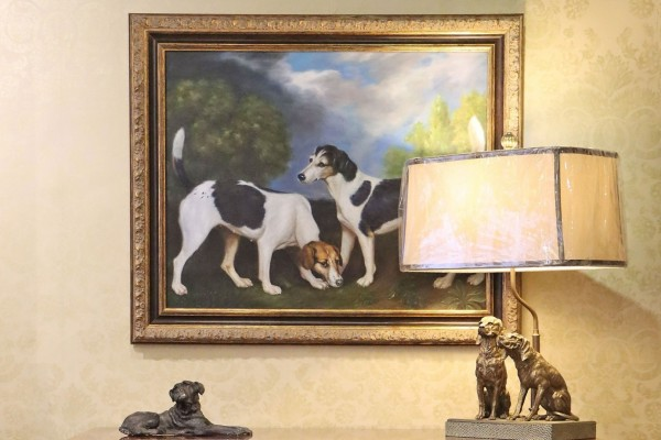 Man's Best Friend Takes Pride of Place in the Home