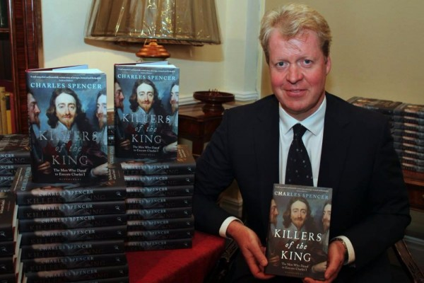 Signed copies of Killers Of The King by Charles Spencer