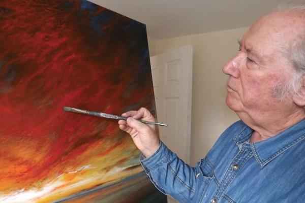 British Artist, Roger Hann's paintings in stock