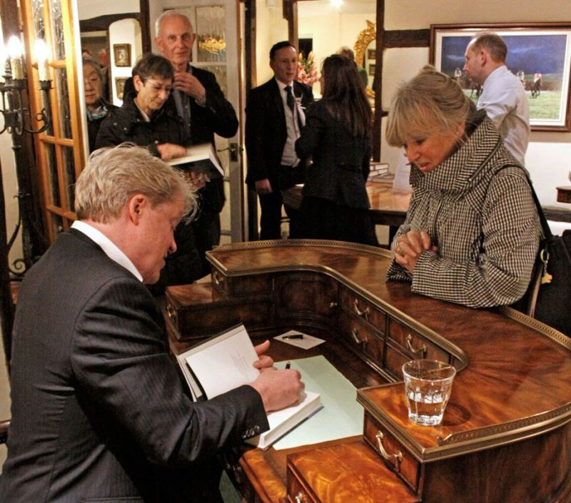 An evening talk & book signing by CHARLES, 9TH EARL SPENCER