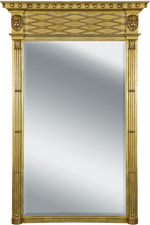 Regency style pier mirror