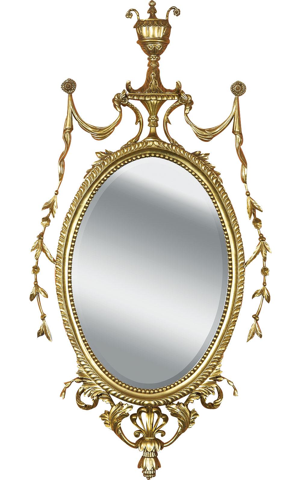 George III style mirror