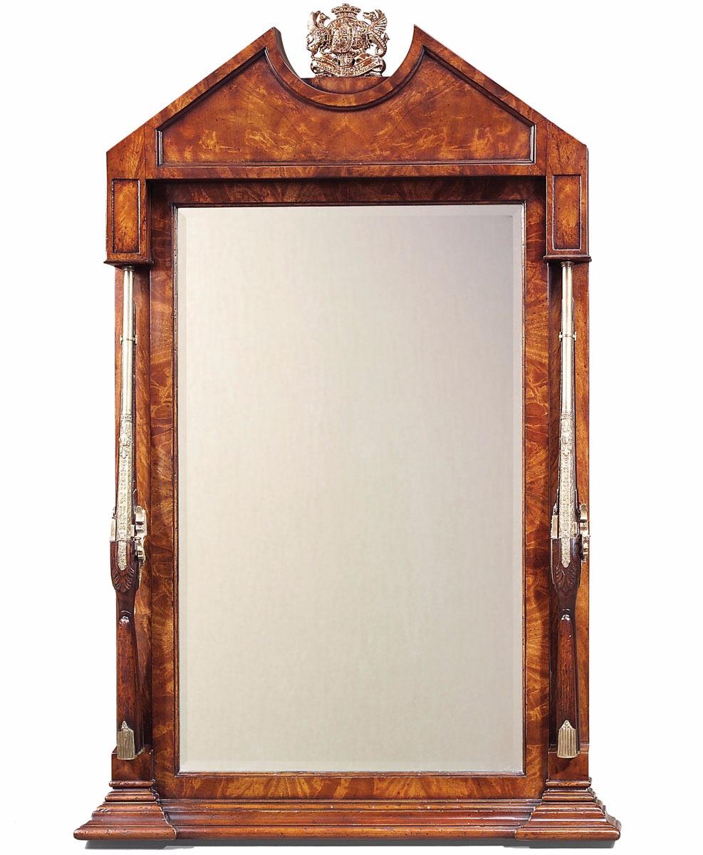 Althorp mahogany overmantle mirror