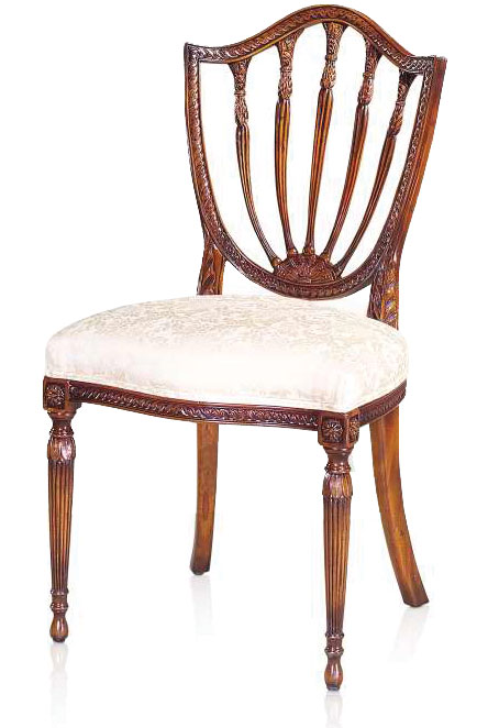 Hepplewhite style dining chair