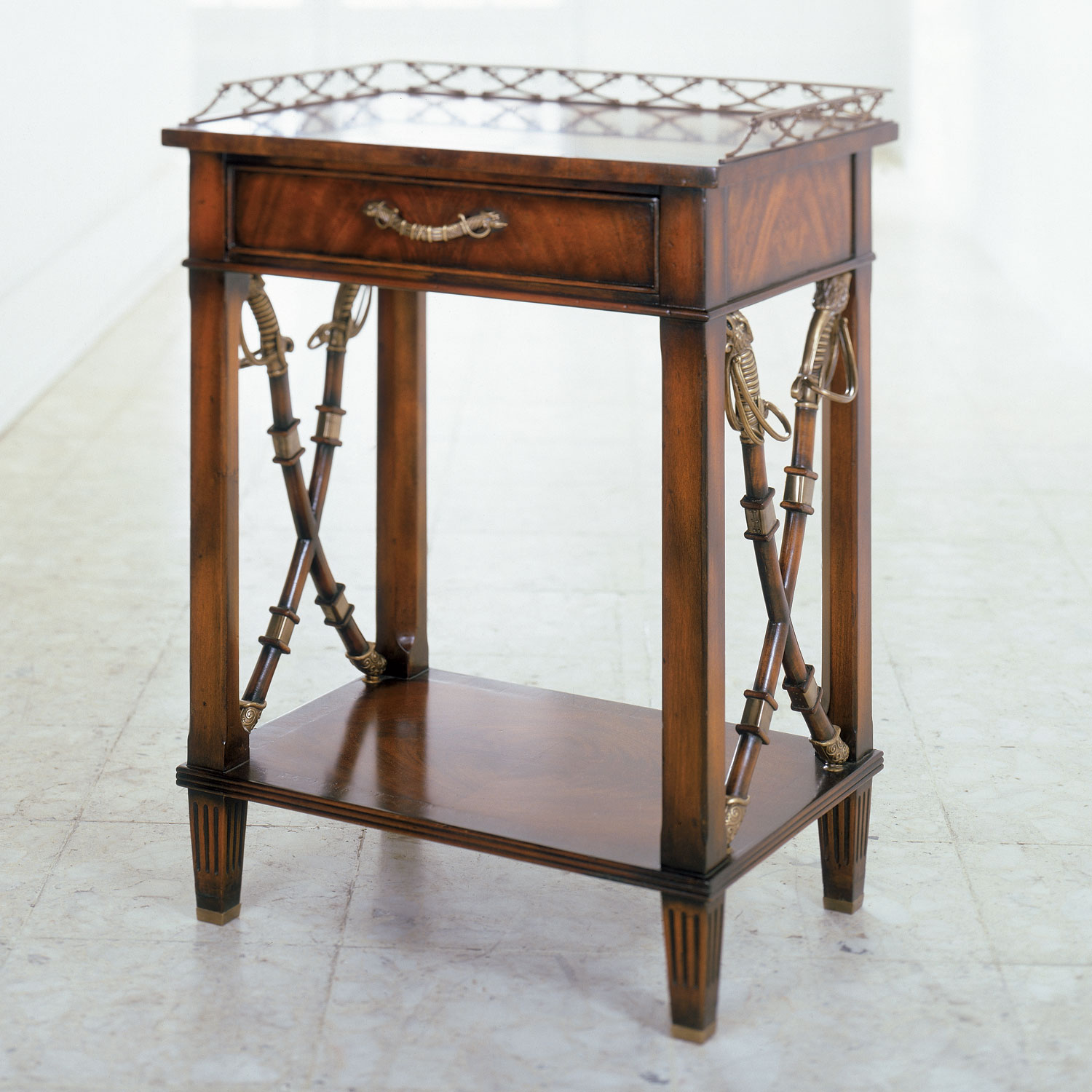 Althorp Admiralty lamp table