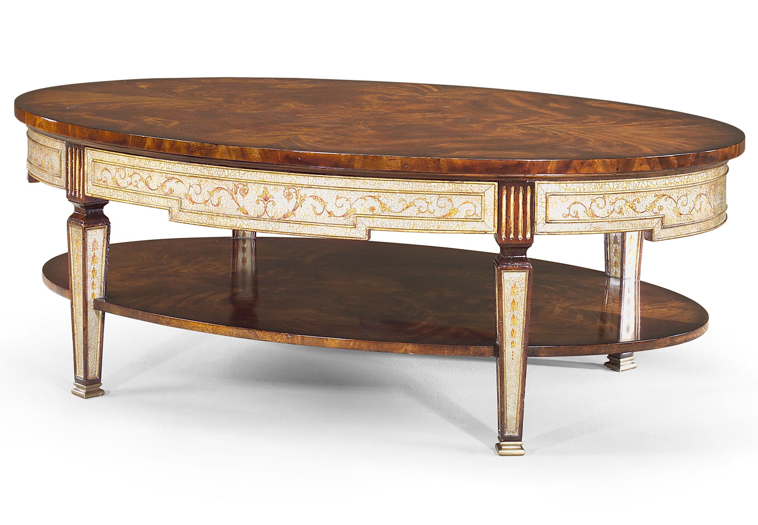 Eglomise coffee table
