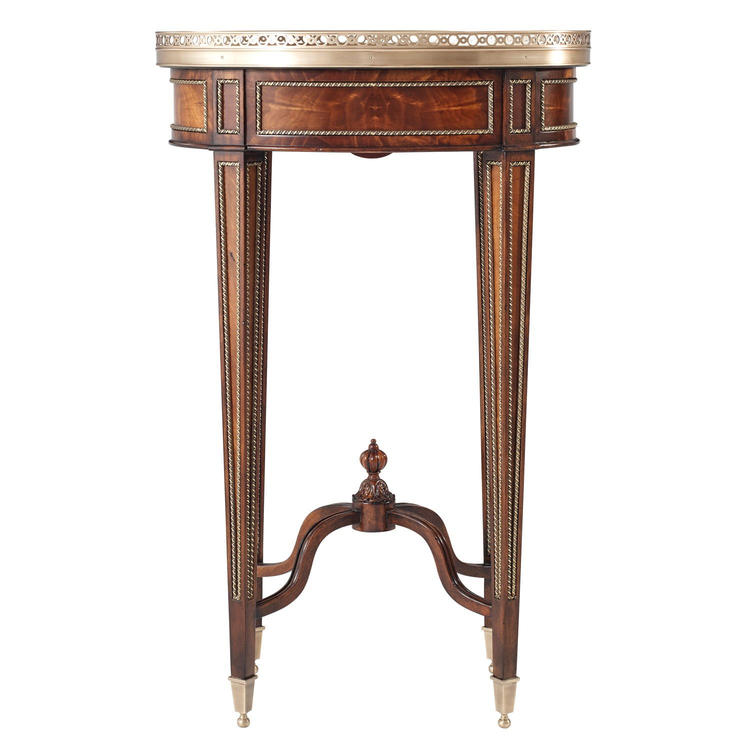 Louis XVI style lamp table