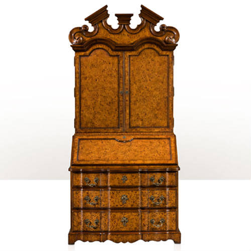 Early Georgian style bureau cabinet