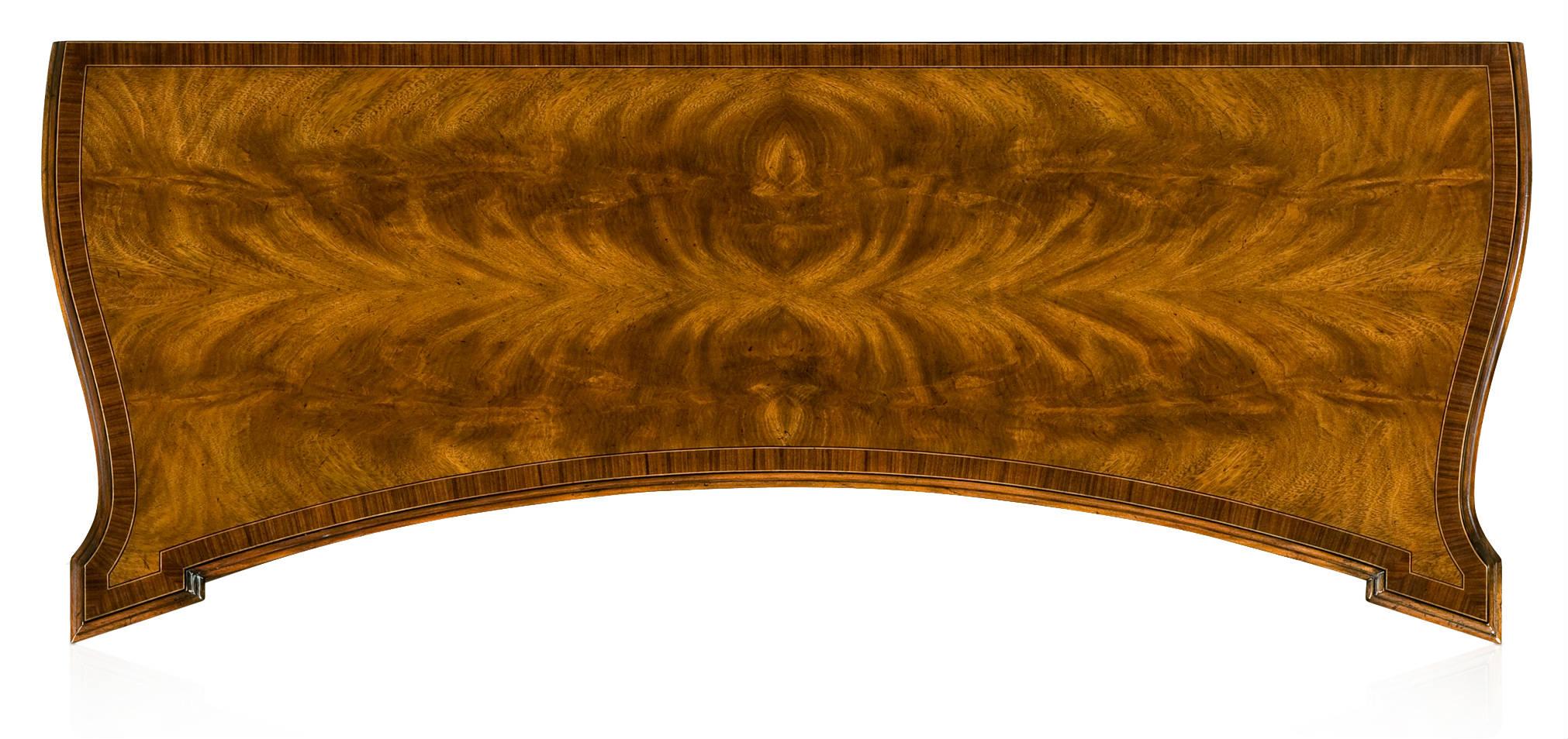 Regency style side cabinet