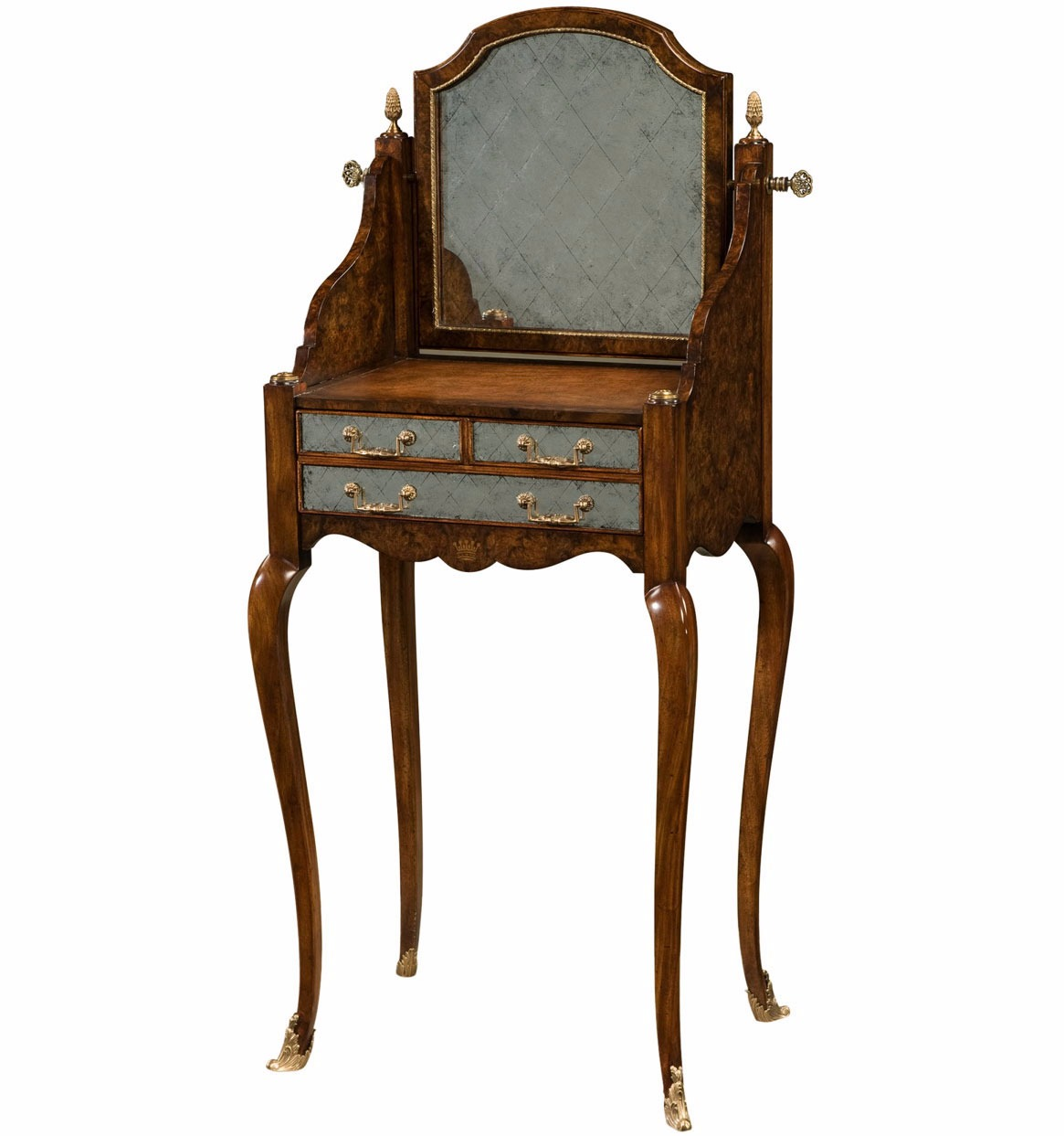 Louis XV style lady's dressing table