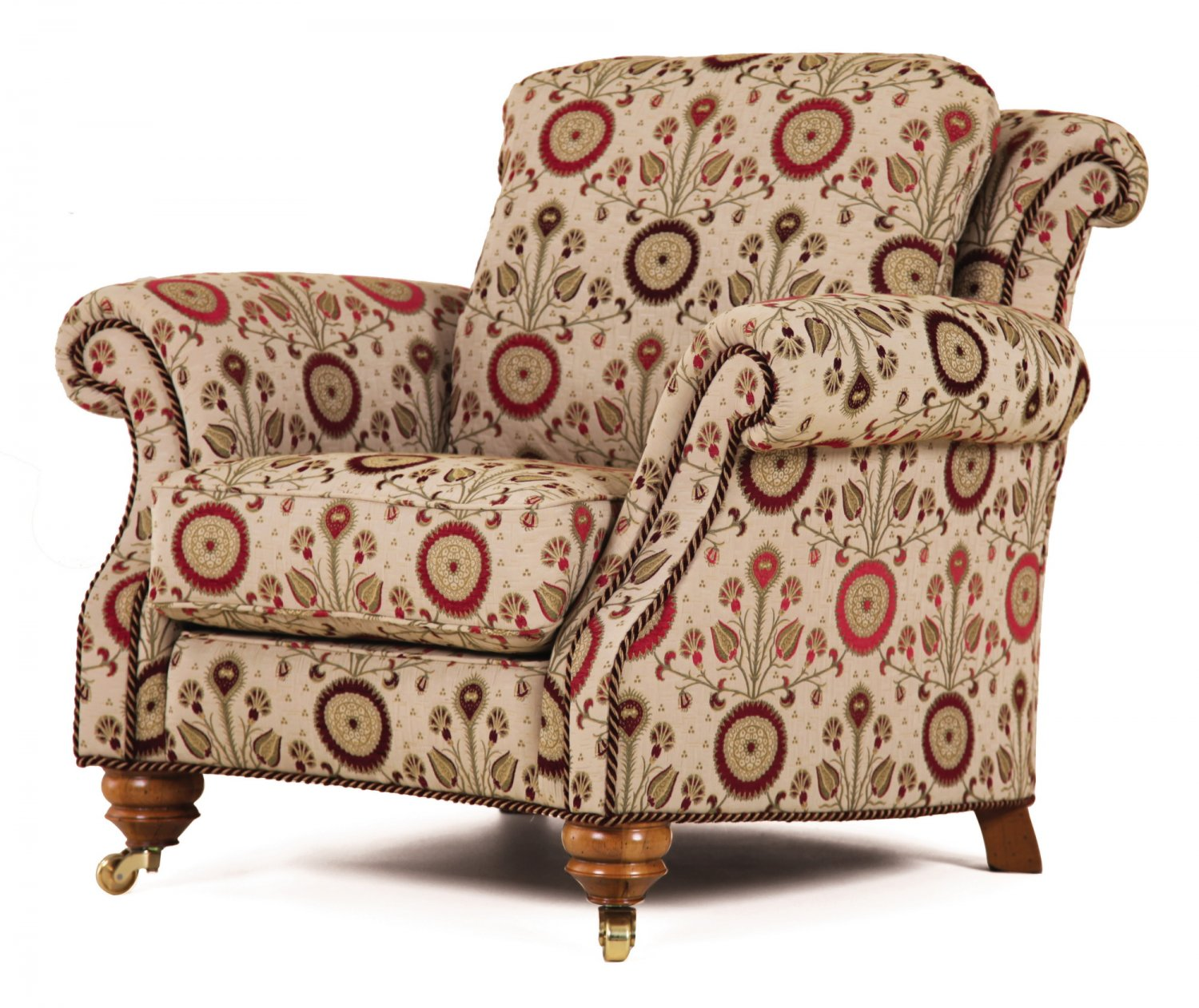 Hedley curved chair