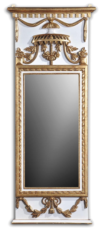 Louis XVI style pier mirror