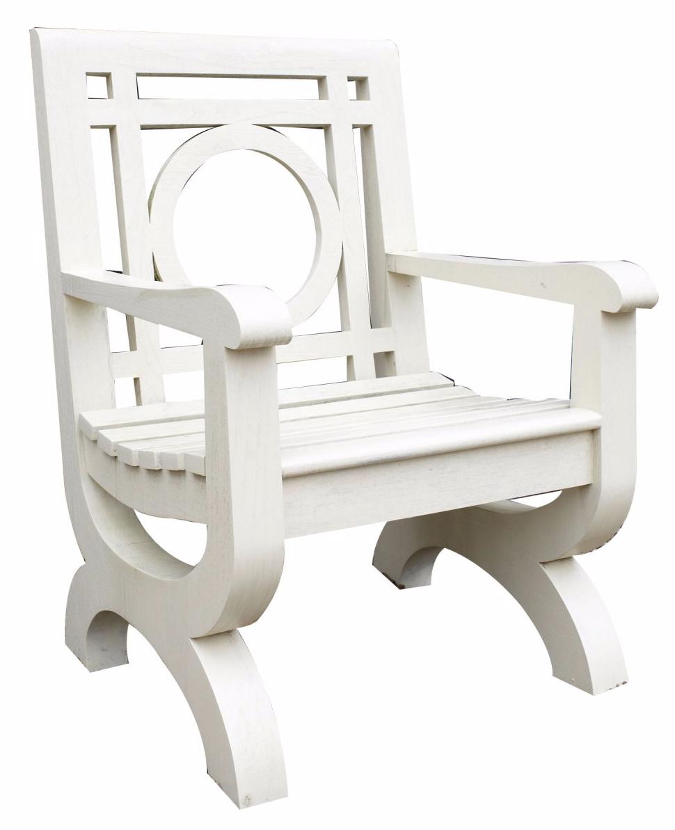Solid teak Kingsbridge chair
