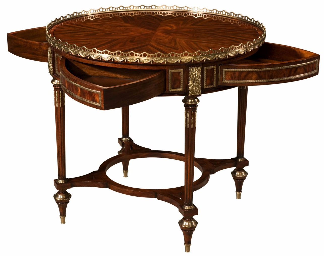 A  mahogany mechanical centre table