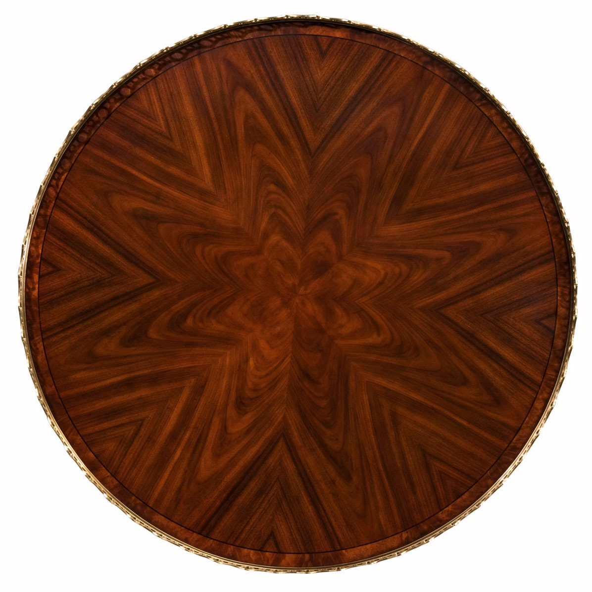 mahogany mechanical round centre table