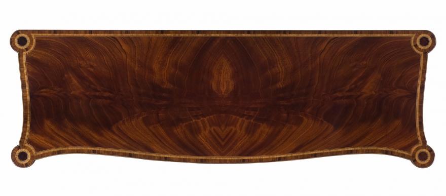 Swirl mahogany sideboard