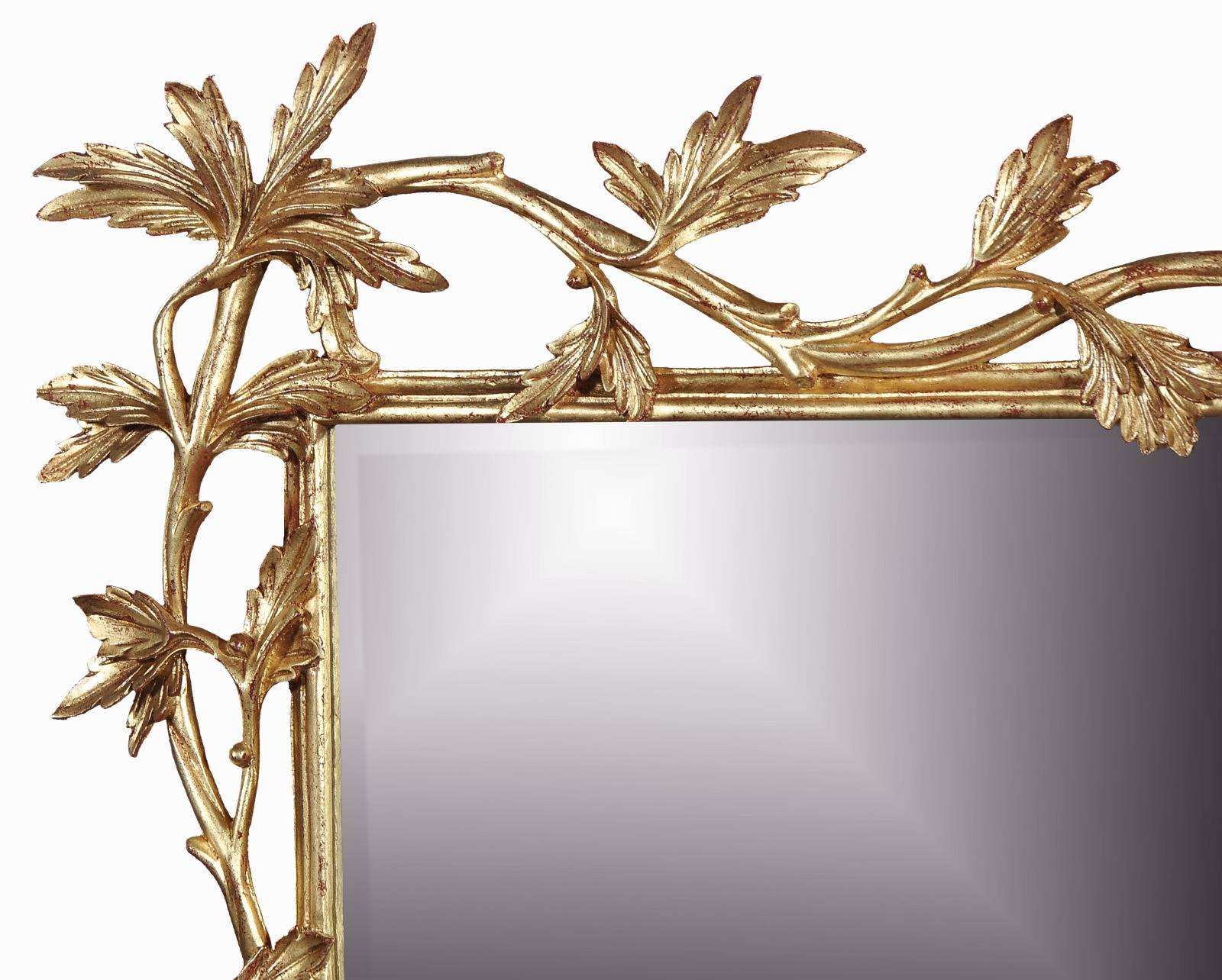 Chippendale style landscape mirror