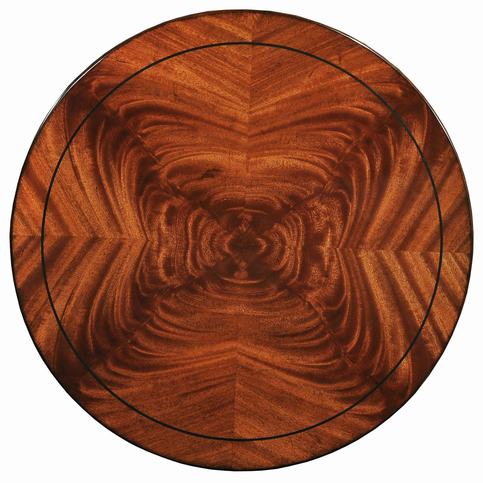 Mauretania wine table - large - In mahogany