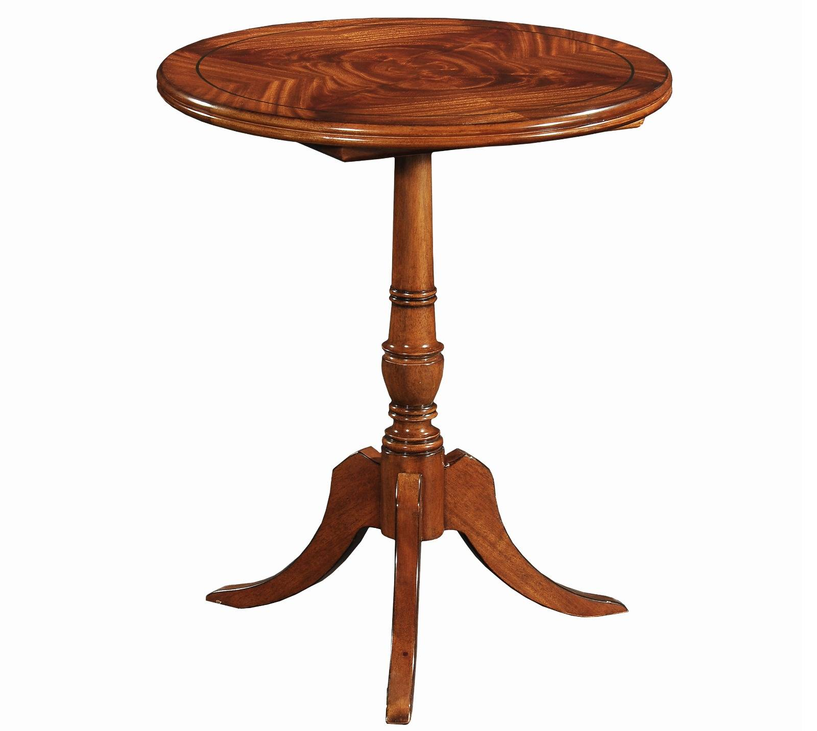 Mauretania wine table - small - In mahogany