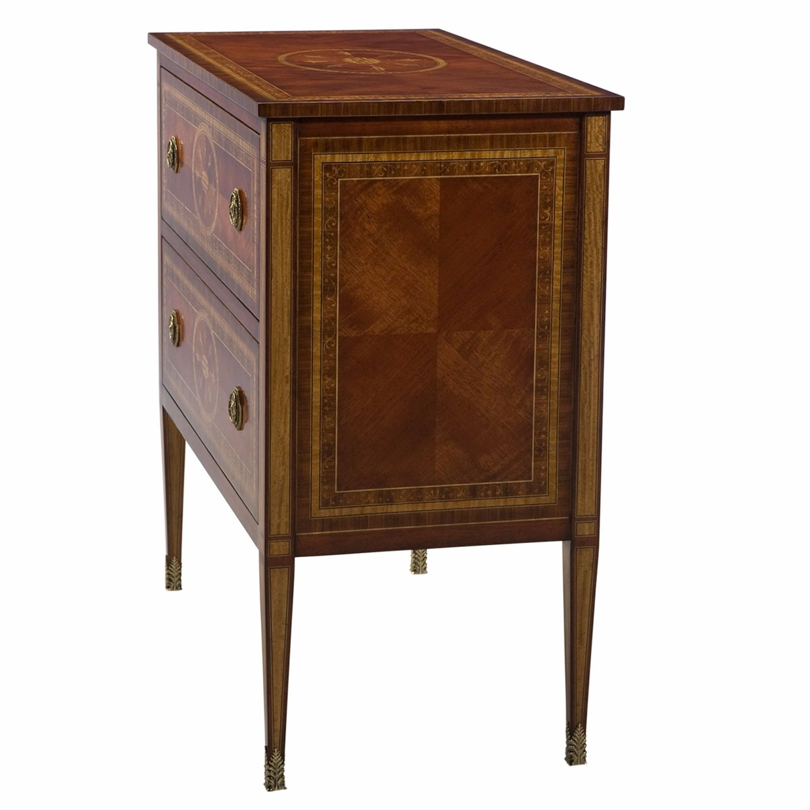 Santo Domingo rosewood chest of drawers