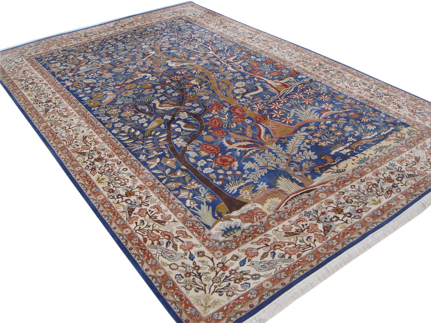 Tehran Garden of Paradise design silk pile carpet
