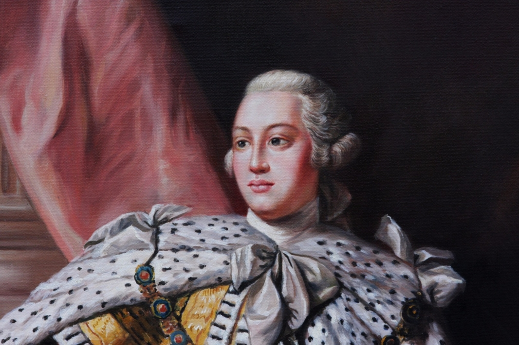 Oil Painting after 'George III' by Allan Ramsay