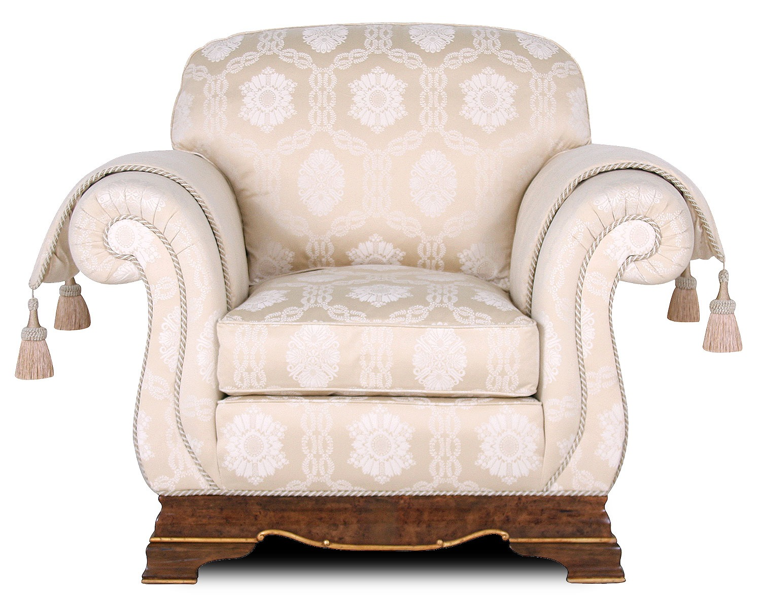 Dorchester chair in cotton jacquard