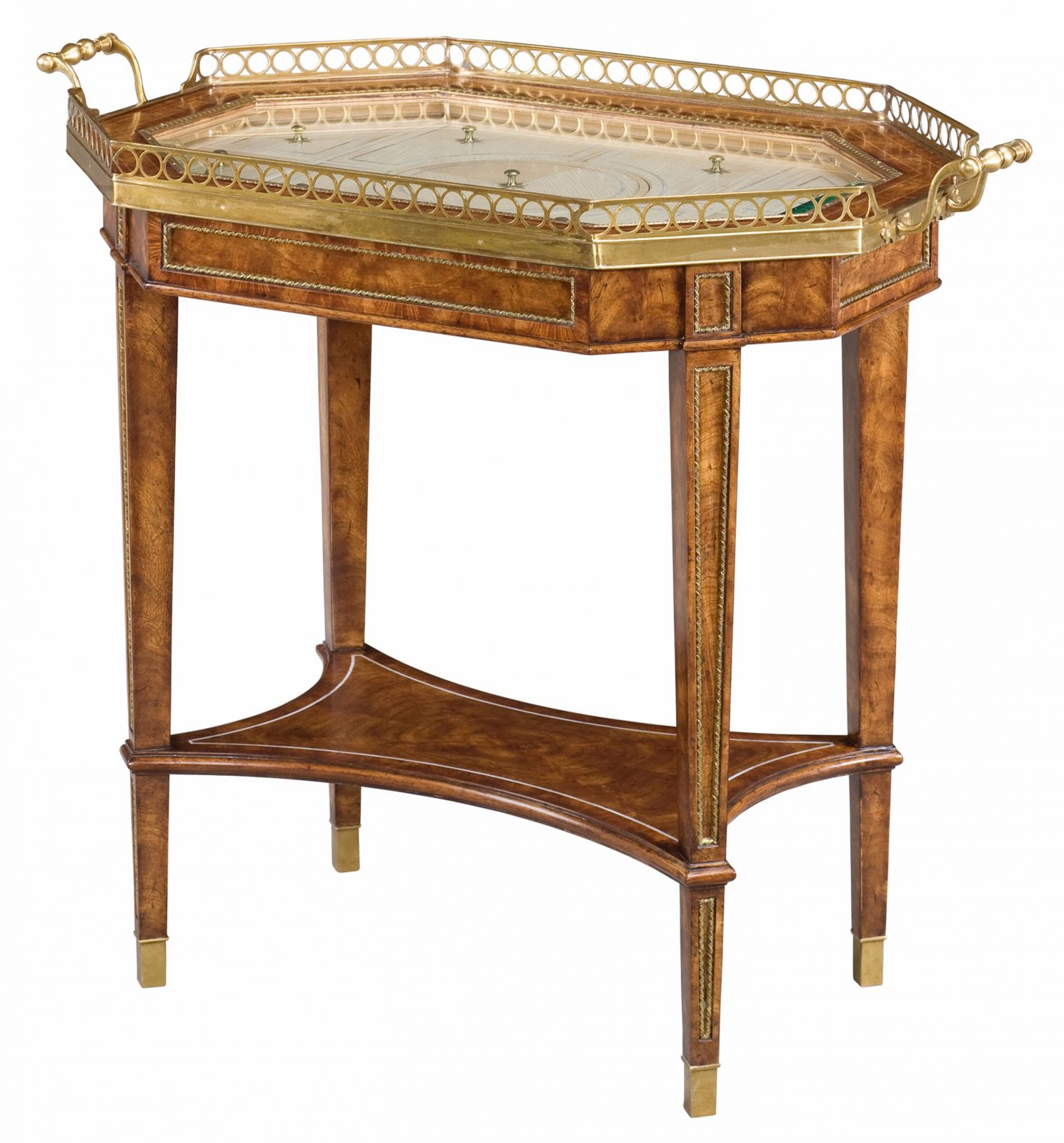 Tray Top Bijouterie Side Table