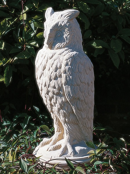 Stone Eagle Owl garden ornament