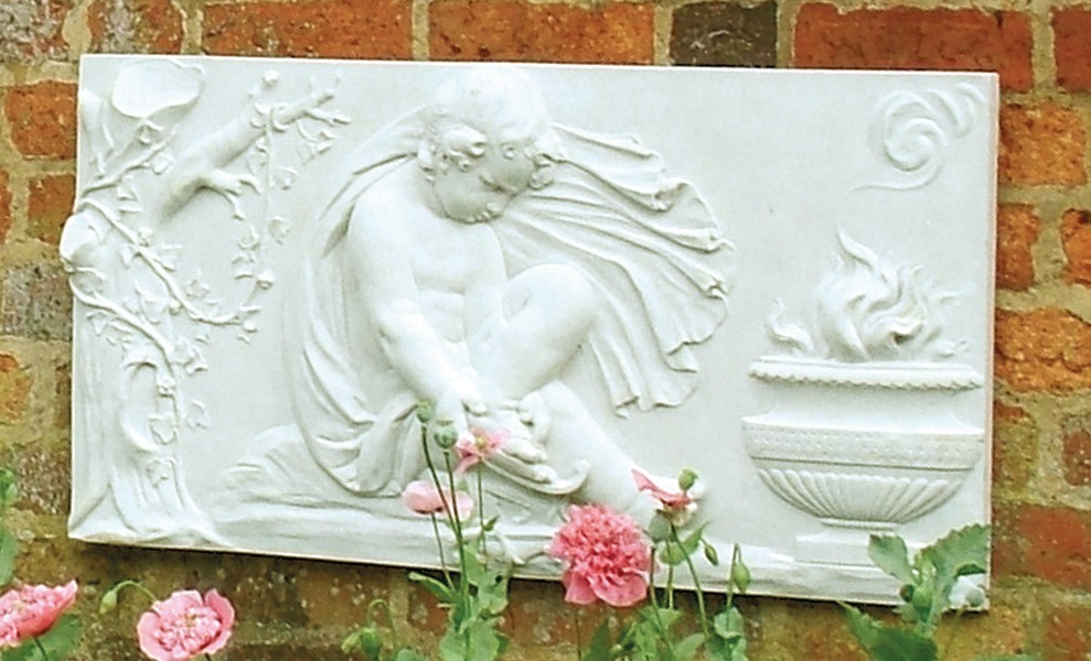 Stone wall plaque - Winter