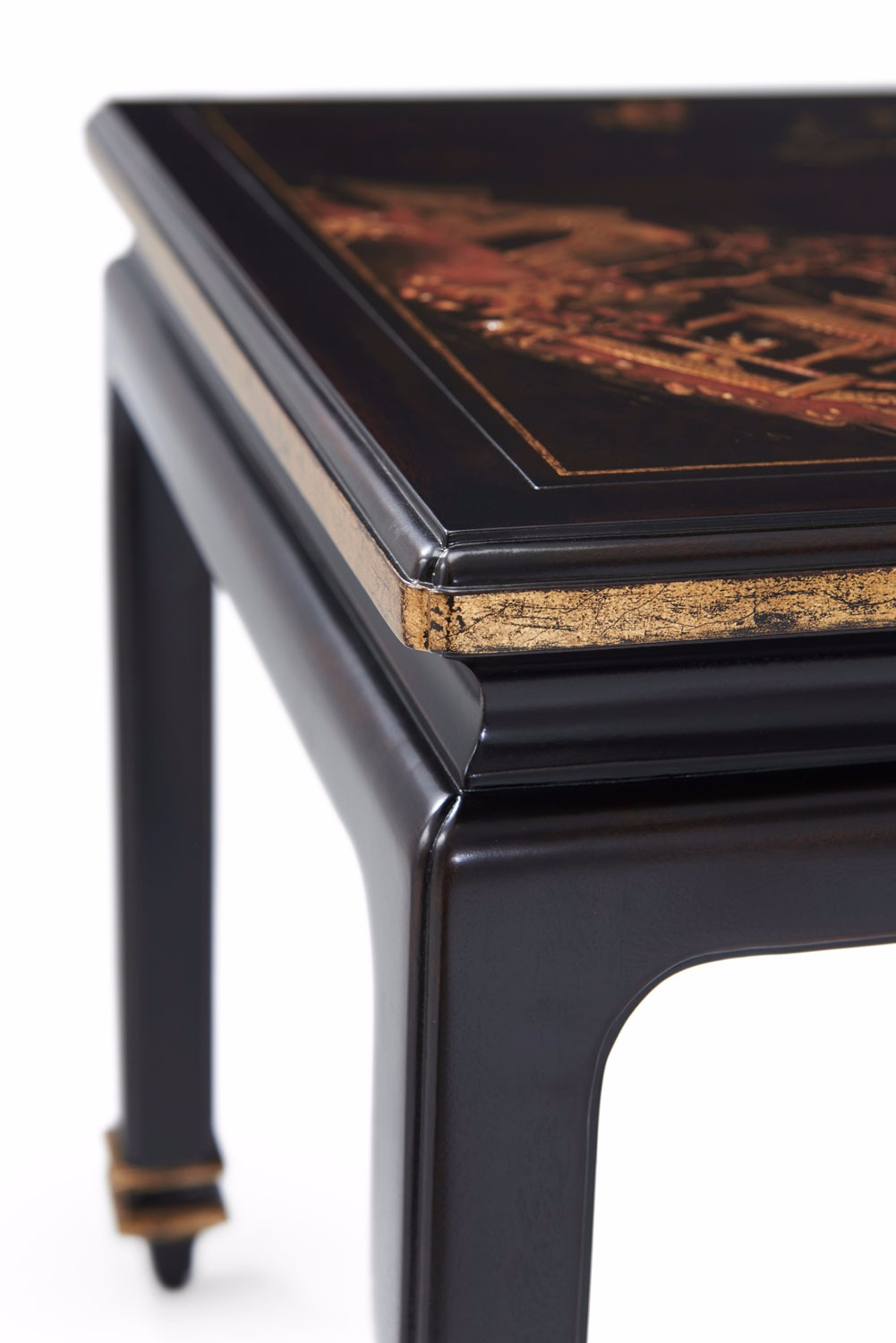 gilded Chinoiserie accent table
