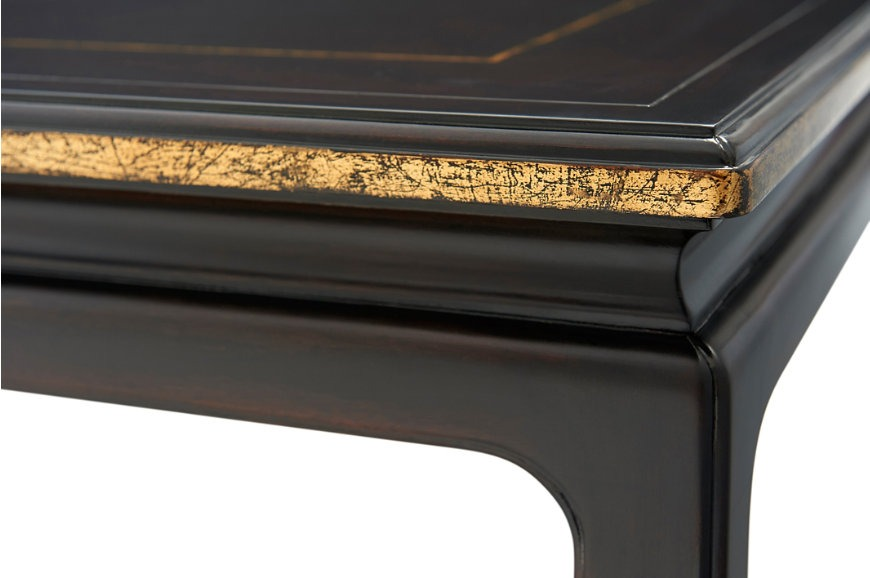 Chinoiserie parcel gilt coffee table