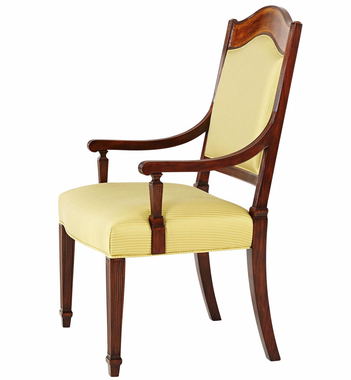 Thomas sheraton chair - Armchair Inspired By An Original By Thomas Sheraton
