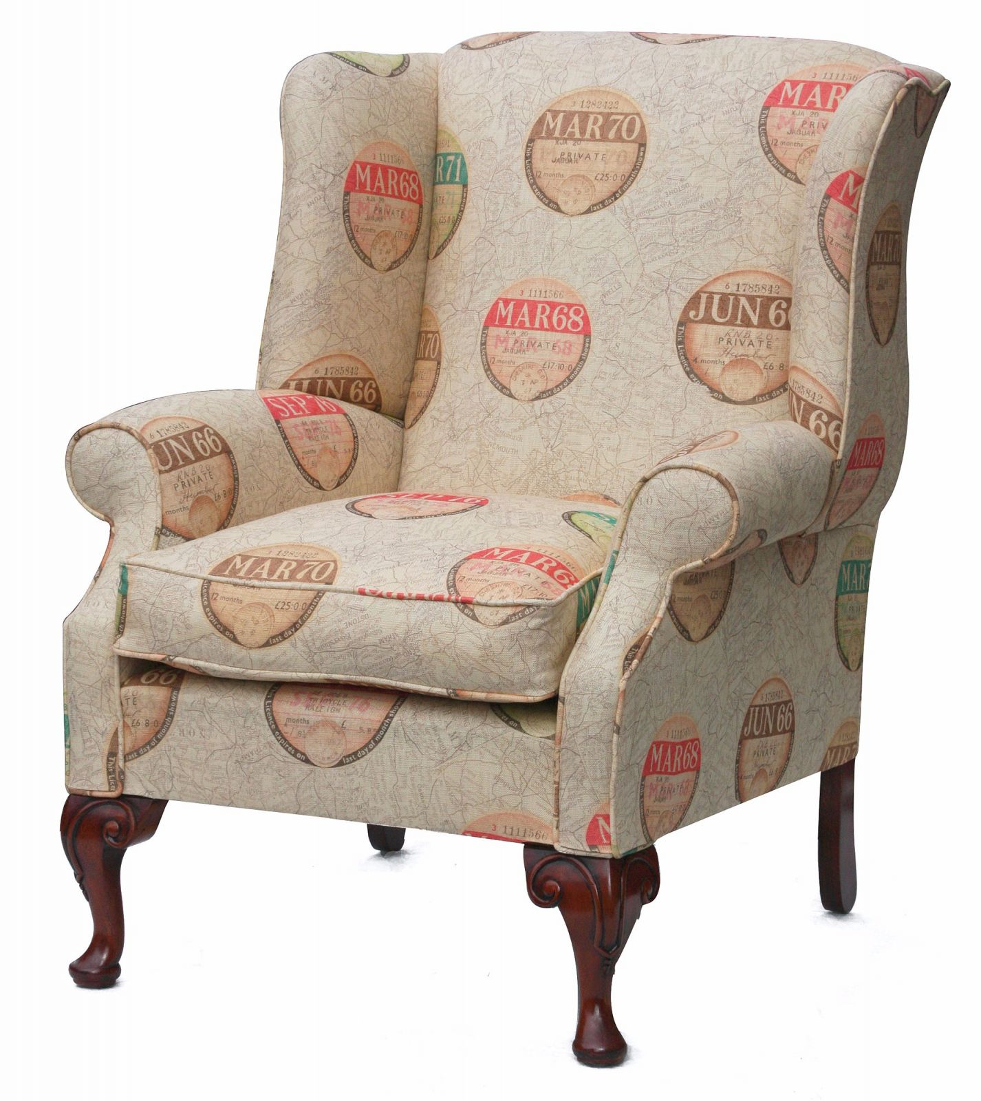 Blandford wing chair