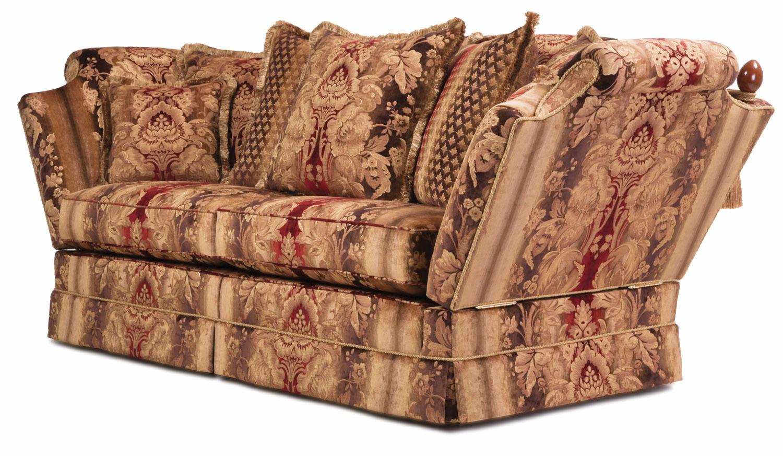 Munnings 3 seat Knole sofa (Grade F)