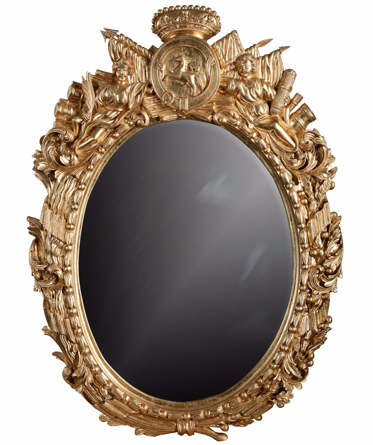 18th Century Military giltwood mirror