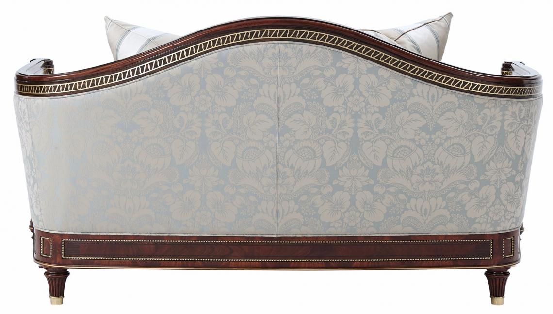 Turner small sofa in cotton jacquard