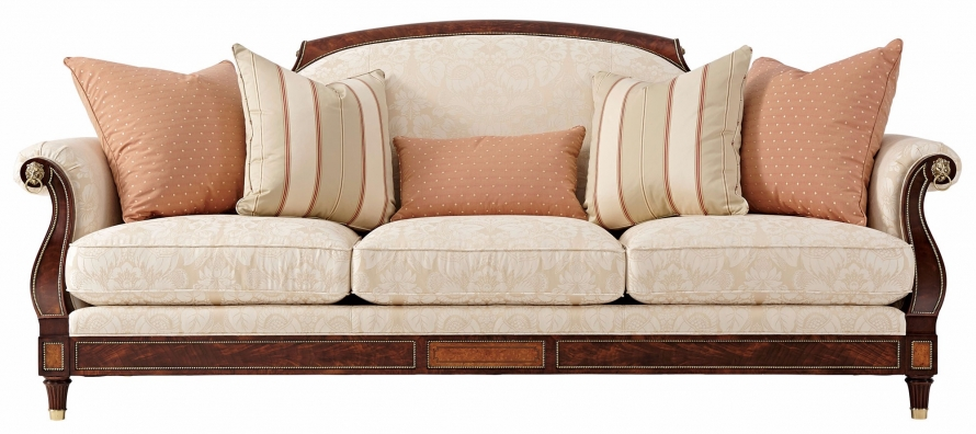 Reynolds large sofa in cotton jacquard