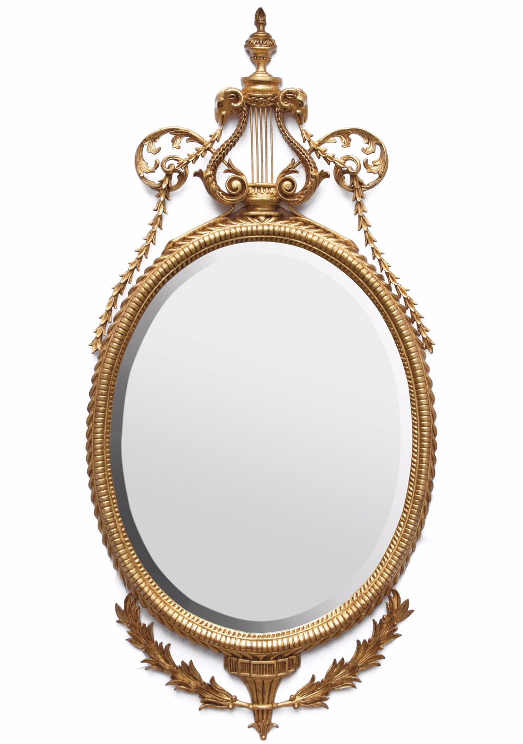 John Linnell style mirror - Antique finish