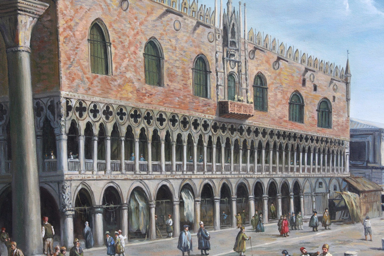 Venice: The Doge's Palace and the Riva deli Schiavoni