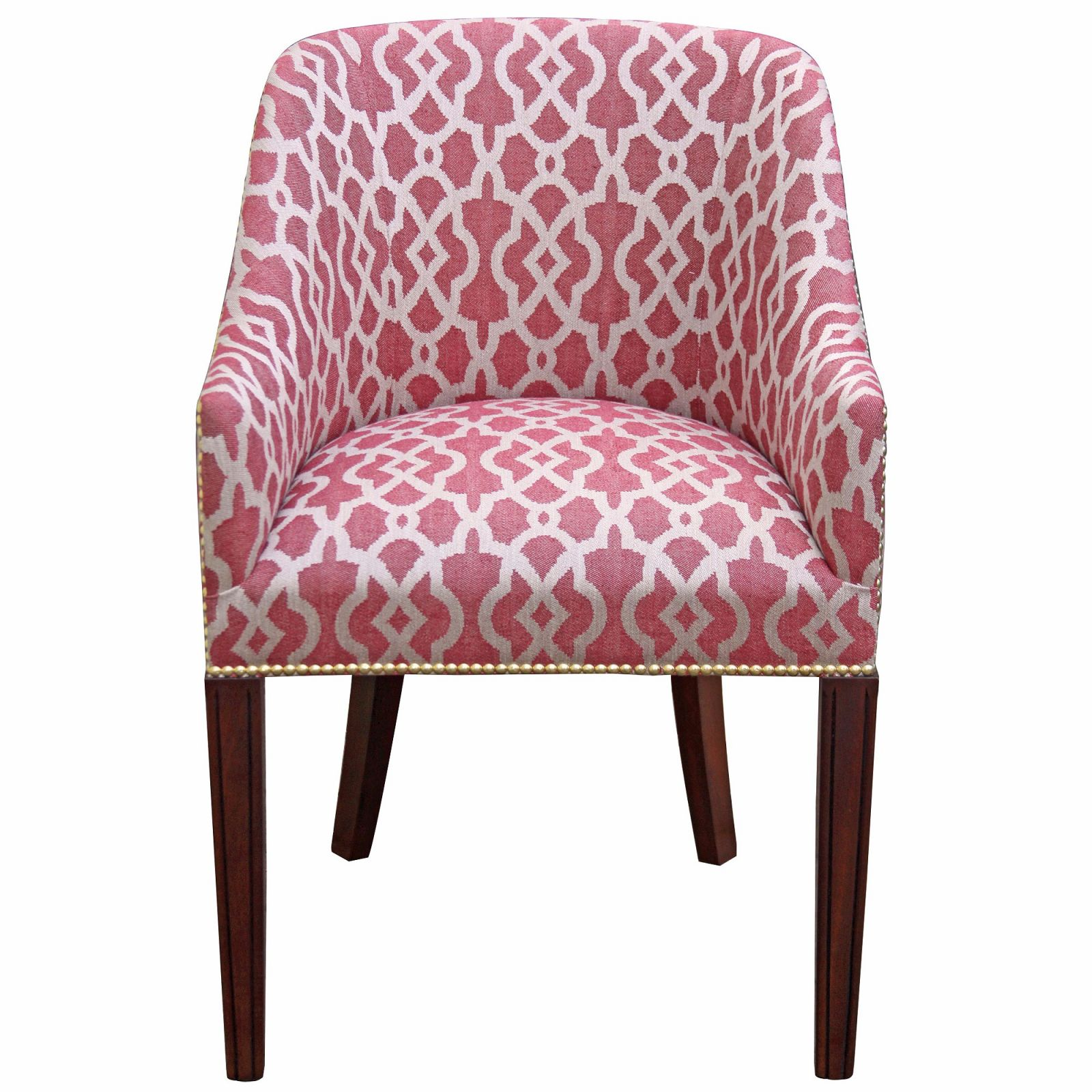 Hinton tub chair in a ruby weave