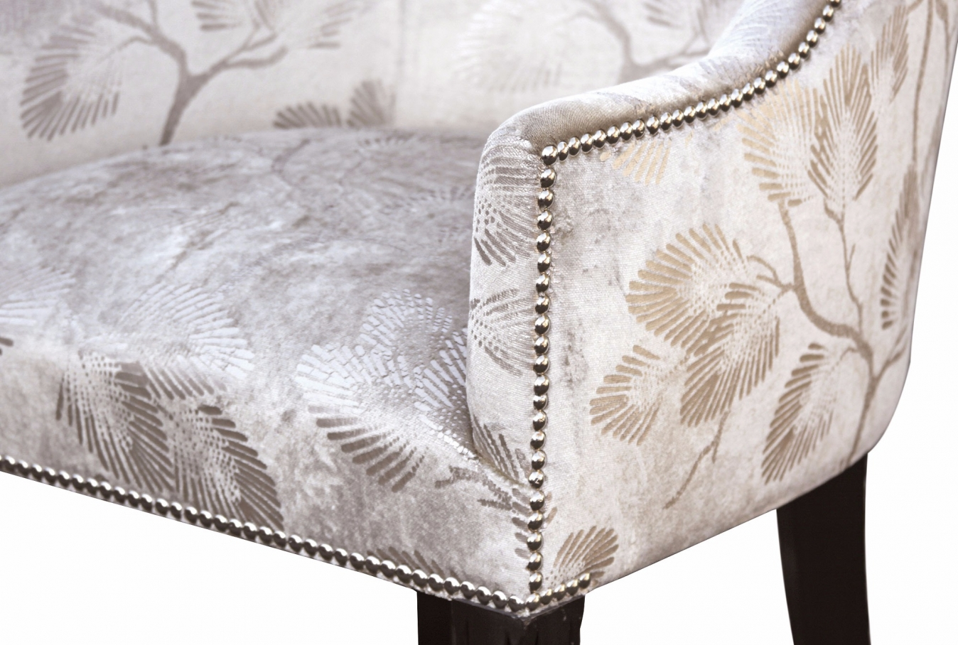 Hinton tub chair in an opulent velvet