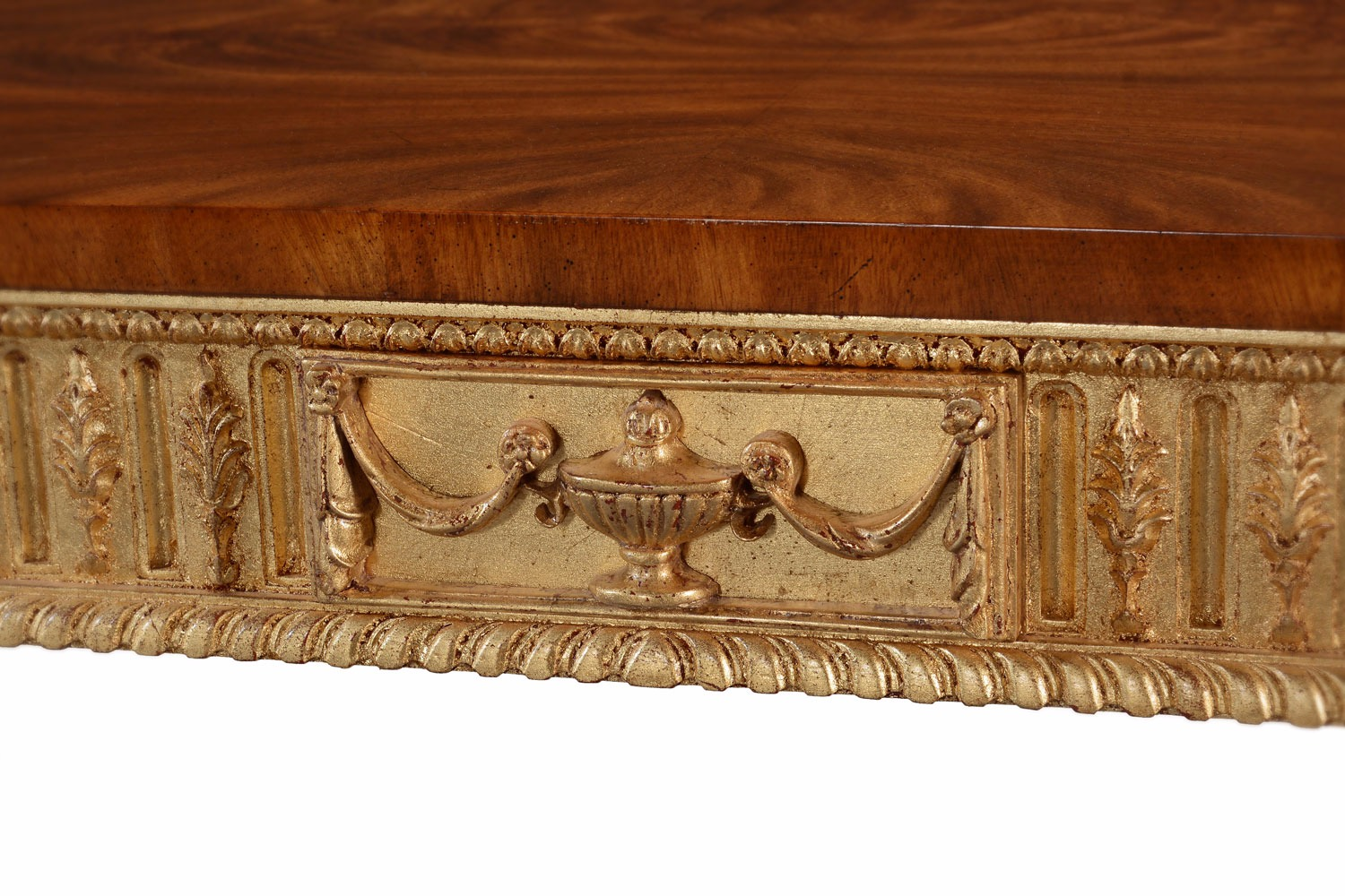 Traditional giltwood coffee table
