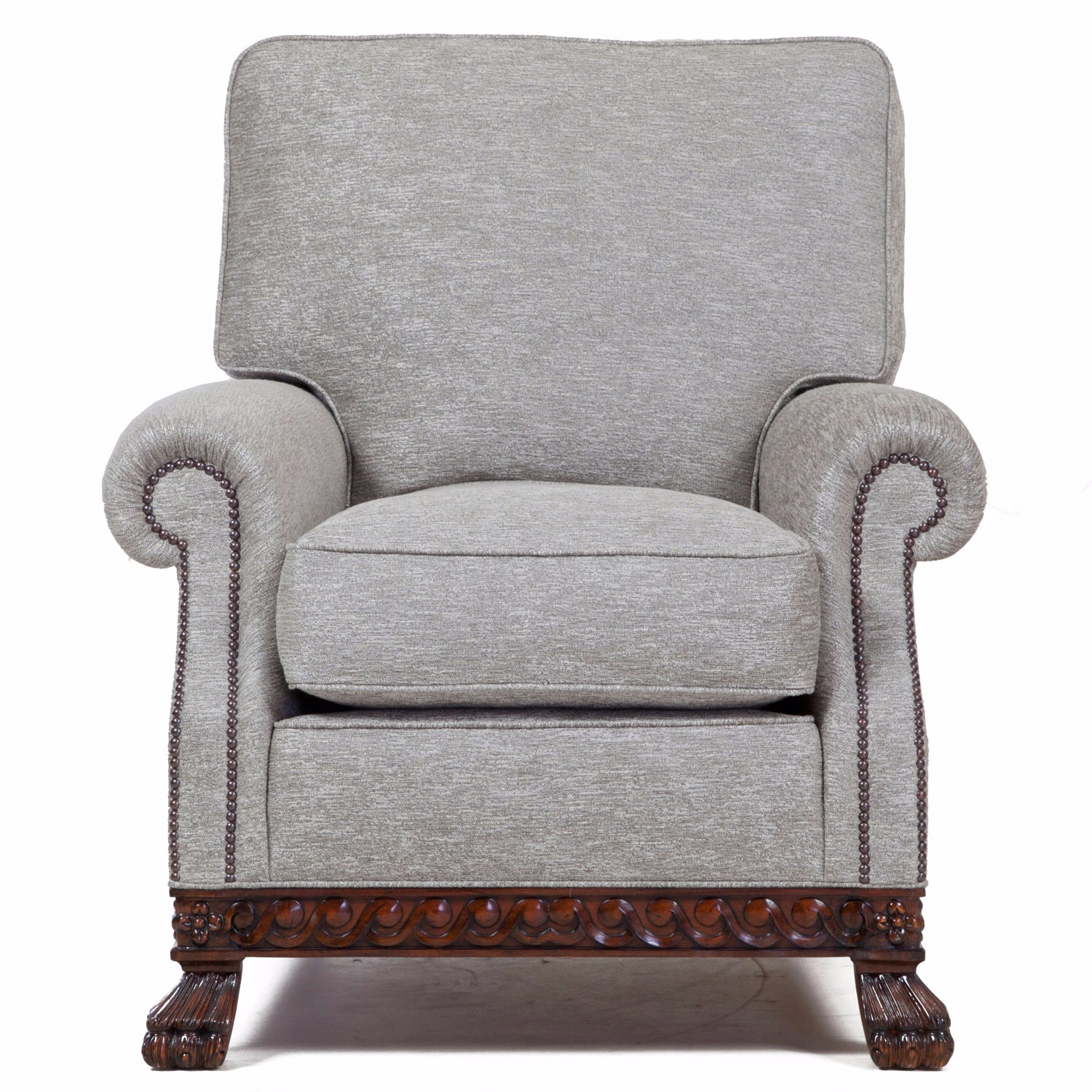 Dartington chair in a platinum weave