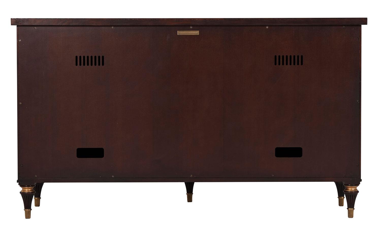 Mahogany Television Cabinet