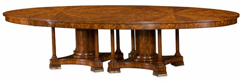 Mahogany veneered boardroom table - Ex demonstrator