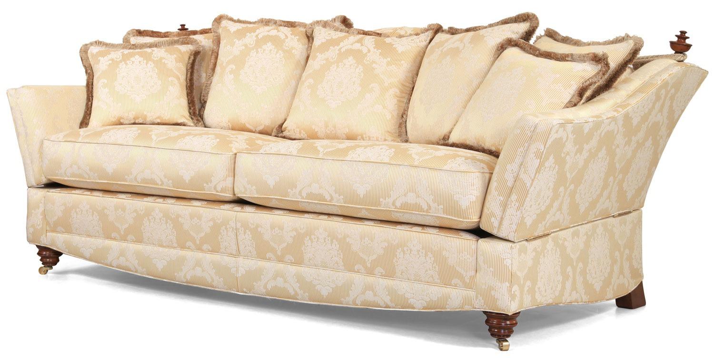 Victoria Knole 3 seat sofa in Gainsborough Knickerbean