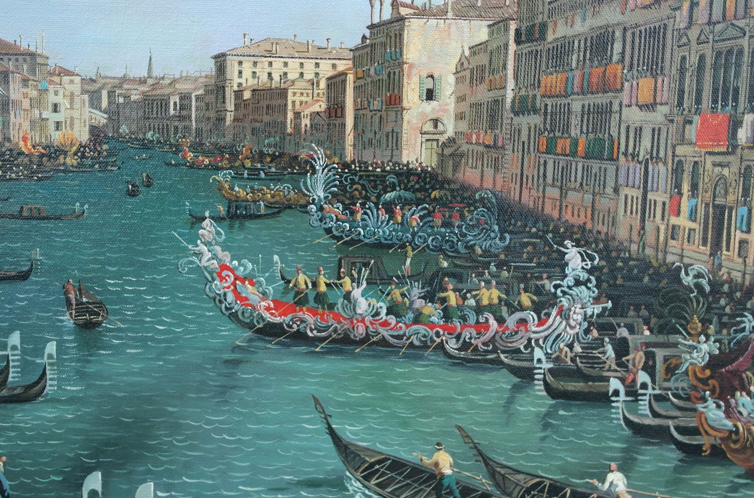 A Regatta On The Grand Canal after Canaletto